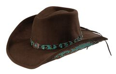 Bullhide Natural Beauty Premium Wool Cowgirl Hat, , hi-res