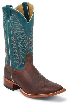 Nocona Legacy Zulu Cowboy Boots - Square Toe, , hi-res