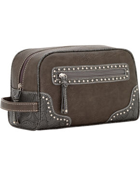 Bandana by American West Lake Tahoe Charcoal Shave Case, Charcoal Grey, hi-res