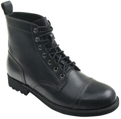 Eastland Men's Black Jayce Cap Toe Boots, , hi-res