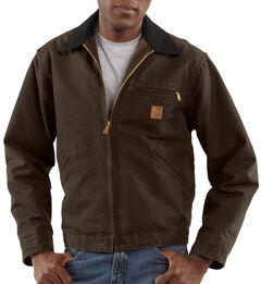 Carhartt Blanket Lined Sandstone Detroit Work Jacket - Big & Tall, , hi-res