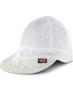 American Worker Men's White Welding Cap, , hi-res