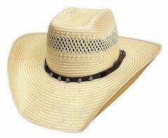 Bullhide Borrowed Time 50X Shantung Straw Cowboy Hat, , hi-res