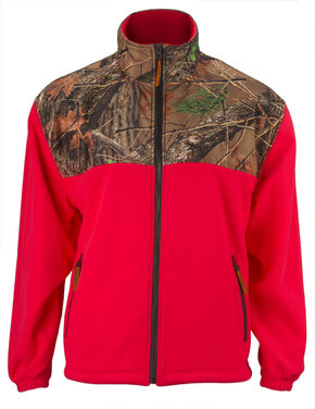 Trail Crest Women's Camo C-Max Wind Jacket, Coral, hi-res