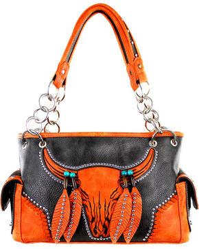 Montana West Coffee Concealed Handgun Collection Handbag, Brown, hi-res