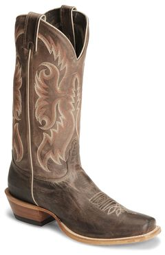 "Nocona Men's  13"" Legacy Calf Boots - Square Toe, , hi-res"