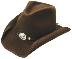 Stetson Hollywood Drive Crushable Wool Cowboy Hat, Brown, hi-res