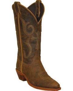 Abilene Boots Women's Western Cross Cowgirl Boots - Snip Toe, , hi-res
