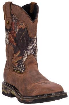 Dan Post Hunter Waterproof Camo Work Boots, , hi-res