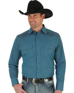 Wrangler Men's Sport Western Shirt, , hi-res