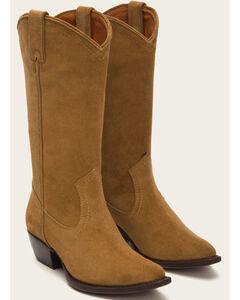 Frye Women's Sacha Tall Boots - Pointed Toe , Suntan, hi-res