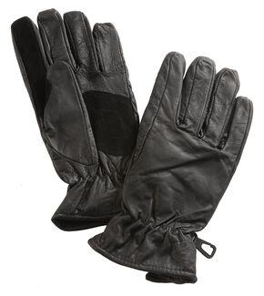 Interstate Leather Ladies Driving Glove, Black, hi-res