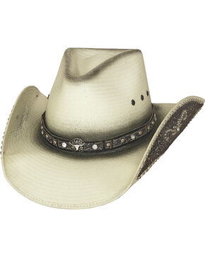 Bullhide Hats Women's Lose My Mind Straw Cowboy Hat, Natural, hi-res