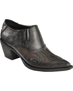 Roper Inlay Ankle Boots - Pointed Toe, , hi-res