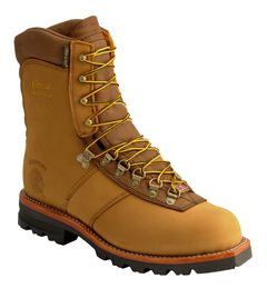 """Chippewa Arctic Nubuck Insulated Waterproof 9"""" Lace-Up Work Boots, , hi-res"""