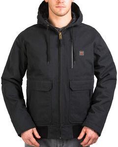Walls Men's Blizzard-Pruf Insulated Hooded Jacket , Jet Black, hi-res