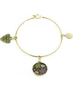 Jilzarah Prairie Gold Bangle, , hi-res