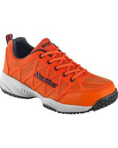 Nautilus Men's Orange Athletic Work Shoes - Composite Toe , , hi-res