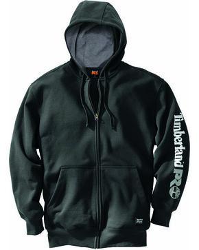 Timberland Men's Pro Hood Honcho Full Zip Hoodie , Black, hi-res