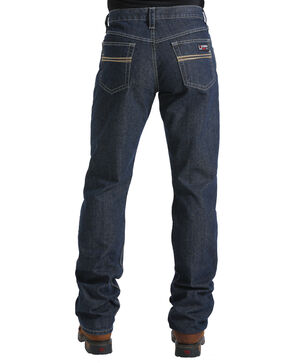 Cinch Men's Dark Blue White Label Carter WRX FR Jeans - Straight Leg , Dark Blue, hi-res