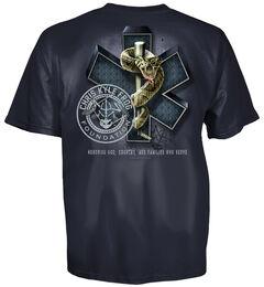 Chris Kyle EMS Frog Shield Blue T-Shirt, , hi-res