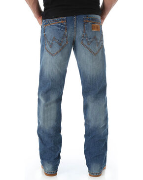 Wrangler Retro Men's Slim Fit Boot Cut Jeans, Blue, hi-res