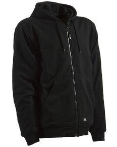 Berne Black Original Hooded Sweatshirt - 3XT and 4XT, , hi-res