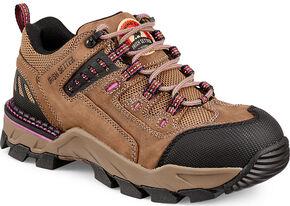 Red Wing Women's Irish Setter Two Harbors Hiker Work Boots - Aluminum Toe, Brown, hi-res