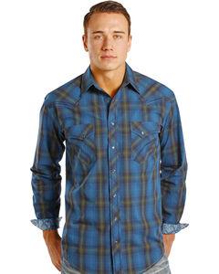 Rough Stock by Panhandle Slim Kentsdale Plaid Western Snap Shirt , , hi-res
