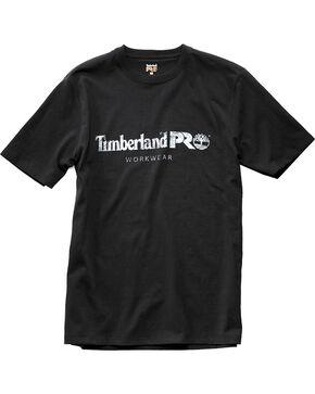 Timberland Men's Pro Cotton Core Short Sleeve T-Shirt , Black, hi-res