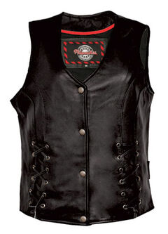 Interstate Leather Women's Dixie Vest, , hi-res