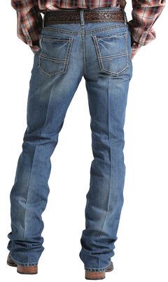 Cinch Men's Indigo Ian Mid-Rise Slim Fit Jeans - Boot Cut , , hi-res