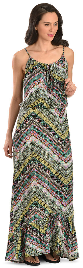 Wrangler Rock 47 Women's Printed Maxi Dress, Multi, hi-res