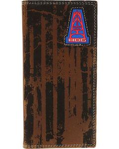 HOOey Men's Oil Gear Rodeo Wallet , , hi-res