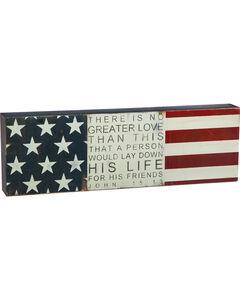 Cape Craftsmen John 15:13 Flag Wall Sign, , hi-res