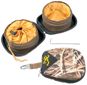 """Browning Camouflage Portable 7"""" Pet Dish , Camouflage, hi-res"""