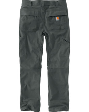 Carhartt Men's Full Swing Cryder Dungaree Work Pants, Shadow Black, hi-res
