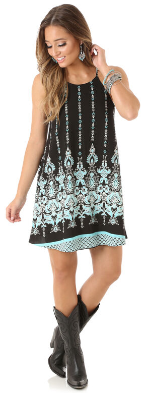 Wrangler Rock 47 Women's Printed Tank Dress, Multi, hi-res