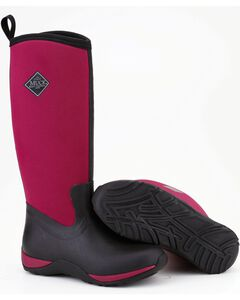 Muck Boots Maroon Arctic Adventure Boots, , hi-res
