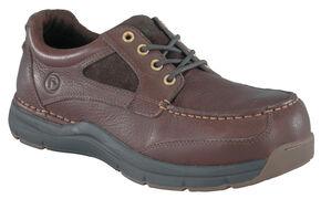 Rockport Works Seamaster Boat Shoes - Composition Toe, Brown, hi-res