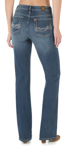 Wrangler Aura Women's Instantly Slimming Bootcut Jeans, , hi-res