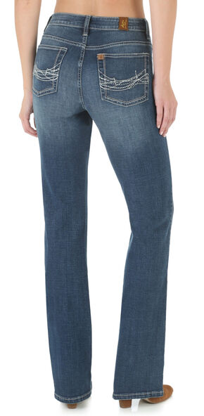 Wrangler Aura Women's Instantly Slimming Bootcut Jeans, Denim, hi-res