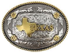Cody James Men's Oval Texas Belt Buckle, , hi-res