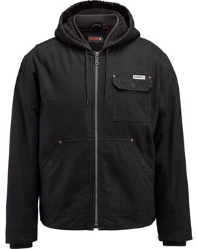 Wolverine Men's Black Insulated Ironwood Jacket, Black, hi-res