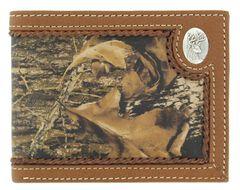 Nocona Mossy Oak Deer Concho Bi-Fold Wallet, , hi-res