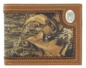 Nocona Mossy Oak Deer Concho Bi-Fold Wallet, Mossy Oak, hi-res