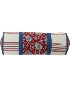 HiEnd Accents Bandera Floral Neckroll Pillow, , hi-res