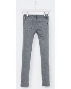 Miss Me Girls' Grey Simple Style Jeans - Skinny , , hi-res