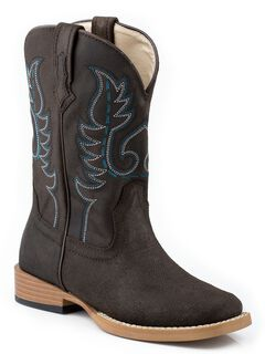 Roper Youth Boys' Basic Cowboy Boots - Square Toe, , hi-res