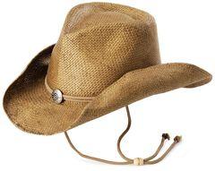 Pinchfront Straw Cowboy Hat, , hi-res